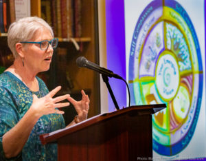 Carolyn discusses her book Clearing Clutter as a Sacred Act, at Third Place Books in Seattle.